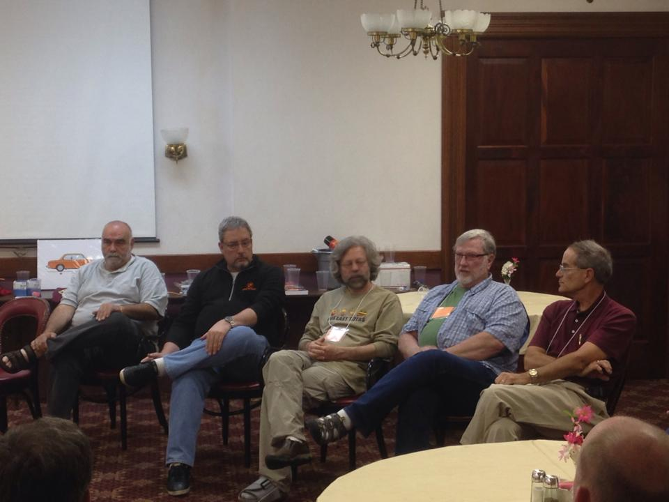 Jack Fahuna, Keith Kreeger, Rob Siegel, Terry Sayther, Mike Self